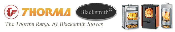 Contemporary THORMA Stove Range by Blacksmith Stoves
